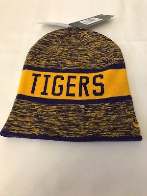 df3cac70672 ... spain nike lsu tigers reversible college beanie hat cap mens womens  unisex new nwt f533f 7731d ...