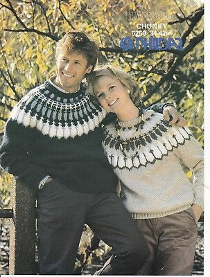 icelandic jumper his and hers knitting pattern