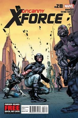 UNCANNY X-FORCE ISSUE 28 - FIRST 1st PRINT - RICK REMENDER - MARVEL COMICS