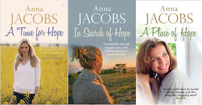 Anna Jacobs __ Hope Trilogy 3 Book Set __ Brand New __ Freepost Uk