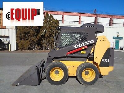 Volvo MC70B Skid Steer - Enclosed Cab - Heat and AC - ONLY 316 HOURS