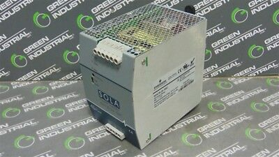 USED SOLA SDN 20-24-100C Power Supply Module 24VDC 20A
