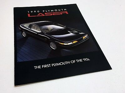 1990 Plymouth Laser Preview Brochure