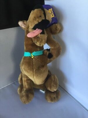 RARE Scooby Doo Snacks Plush stuffed 14 Inch Dog Animal Cartoon Network R