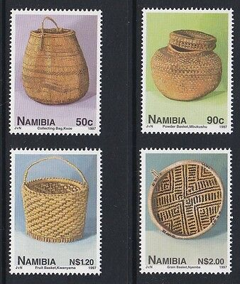 NAMIBIA 1997 Basket Work complete mint set sg733-736 MNH