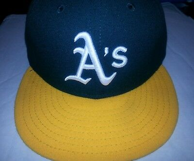 ce5536d0599 OAKLAND A S ATHLETICS Size 7 1 8 New Era 59Fifty Fitted MLB Baseball ...