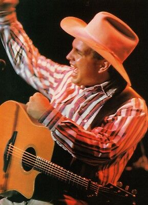 Garth Brooks 1 Page Magazine Picture Clipping Country Music