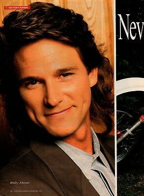 Billy Dean 4 Page 1993 Magazine Article Clipping 4 Picture Country Music
