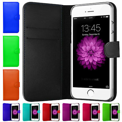 Magnetic Flip Leather Wallet Book Folio Case Cover For Apple iPhone Models