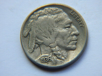 Usa Buffalo Nickels X 6 All Different Years