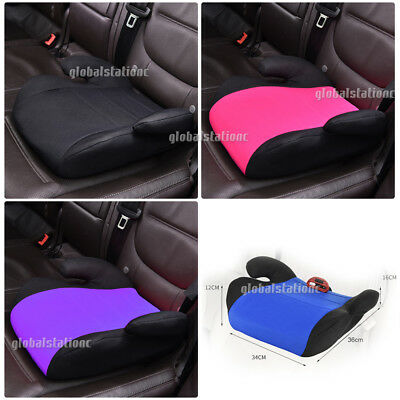 Car Booster Seat Chair Cushion Pad For Toddler Children Child Kids Sturdy OZ HQ