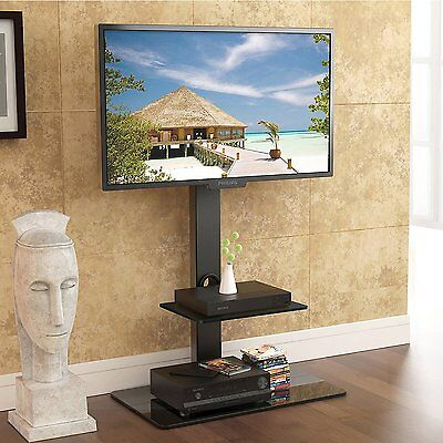 FITUEYES Floor TV Stand with Swivel Mount fit 32 to 65 inch Flat/Curved TV