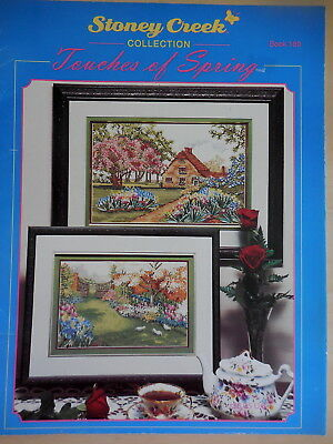 Cross Stitch Pattern + Colour Chart  Stoney Creek Collection Touches Of Spring