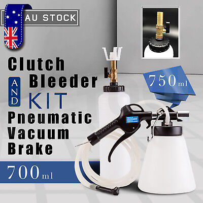Air Brake Bleeder Kit Hand held Vacuum Pump Test set for Automotive with Sponge