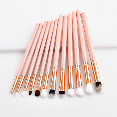 12pcs Eye shadow Concealer Makeup Brushes Eye Makeup Cosmetics Blusher Brush set