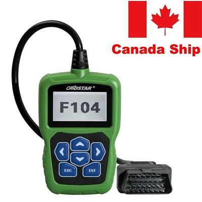 Canada Stock OBDSTAR F104 Fit for Jeep Dodge OBD2 Pin Code Reader Car Programmer