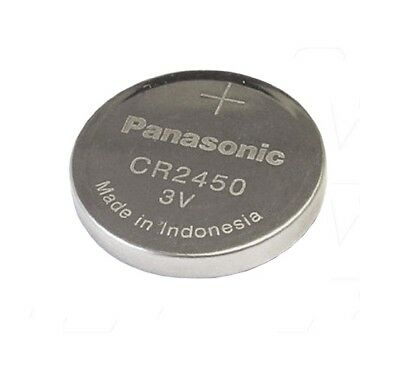 1 x CR2450 DL2450 PANASONIC ORIGINAL Lithium Battery coin cell button cell