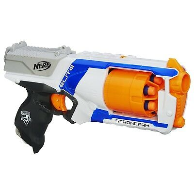 Nerf N Strike Elite Strongarm Blaster Ages 8+ New Toy Gun Play Fire Darts Fight