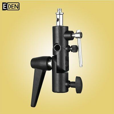Metal Swivel Umbrella Adapter Studio Flash Light Stand Mount Bracket Holder
