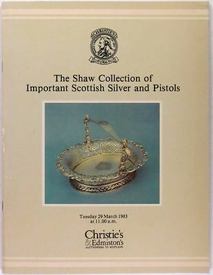 Antique Scottish Sterling Silver -in Major Ian Shaw Collection @ Christie's 1983