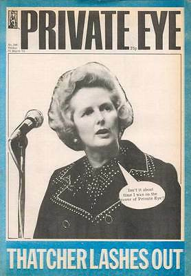 PRIVATE EYE 346 - 21 Mar 1975 - Margaret THATCHER LASHES OUT