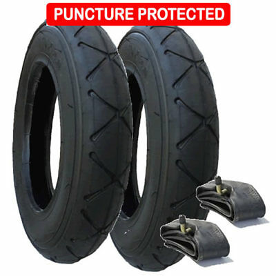Mountain Buggy Swift tyres & inner tubes set of 2 size 10 x 2 Puncture Protected