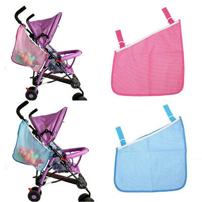 Hanging Net Mesh Bag Storage Organizer Pushchair Stroller Baby Infant Cart