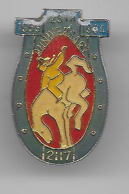 Vintage RODEO 25th Aniversary Horsehoe old enamel pin