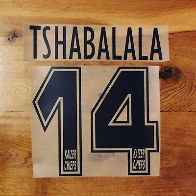Tshabalala Kaizer Chiefs Name Set