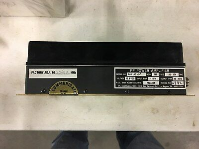 TPL Communications PA3-1AC Radio Frequency Power Amplifier - USED - Mixed Freqs