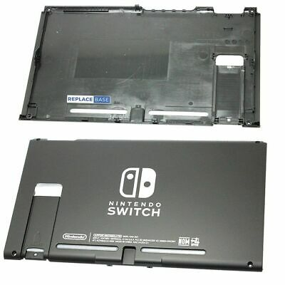 For Nintendo Switch - Replacement Rear Cover Panel Shell  - OEM