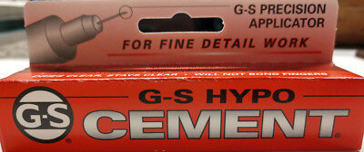 GREAT G-S Hypo Cement glue supply for beads. buttons and other hobbies & crafts