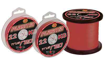 0,11€/m WFT Plasma True  Stay Red Lazer Skin   100m  0,08-0,26mm