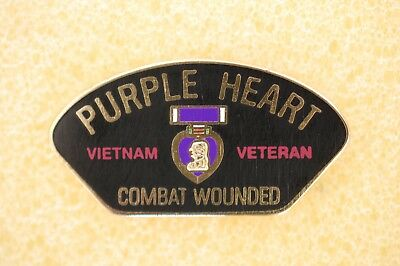 US USA Vietnam Combat Wounded Military Hat Lapel Pin