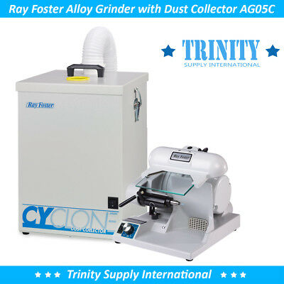 Ray Foster High Speed Grinder AG05C Dust Collector CDC1 Powerful Dental Lab