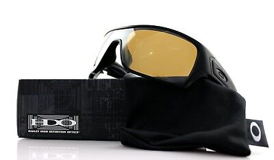 2f753d6f1a9 POLARIZED New OAKLEY TURBINE ROTOR Polished Black Tungsten Sunglasses OO  9307-06
