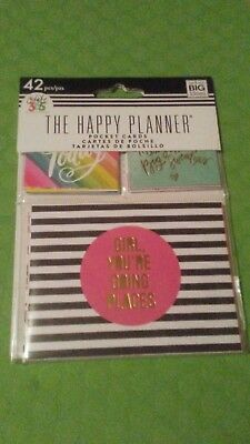 Create 365 Mini Happy Planner Pocket Cards   UPC #673807998162