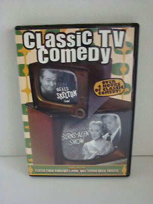 Dvd: Classic Tv Comedy With Burns & Allen & Red Skelton C2007 4 Hrs. 30 Min.