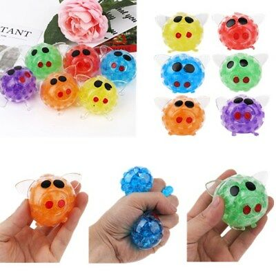 Novelty Bead Stress Ball Sticky Squeeze Pigs Squeezing Stress Relief Toy Gifts