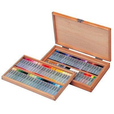 Sakura Cray-pas Premium Artist Quality Oil Pastels, 88 Piece Wood Box Set