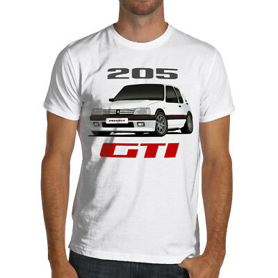 Peugeot 205 Gti  Rally Racing Soft Cotton T-Shirt WRC