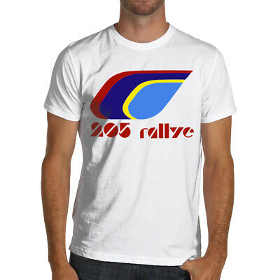 Peugeot 205 Rallye Racing Soft Cotton T-Shirt Rally WRC Gti