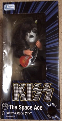 KISS The Space Ace Soundalikes Singing Doll Figure Ace Frehley