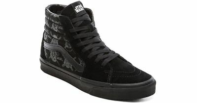 c3fe9497d5 Vans Sk8-Hi Black STAR WARS Dark Side Darth Vader Stormtrooper 8.5 Men s  Size