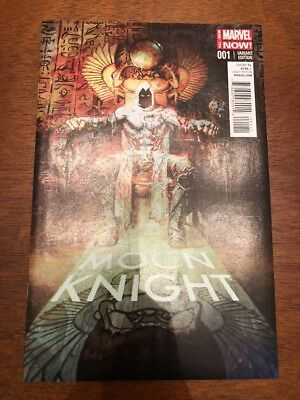 Moon Knight #1 Marvel 2014 Sienkiewicz Variant 1:75 NM