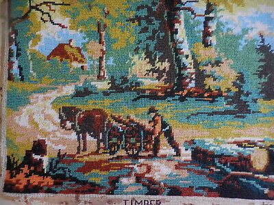 Tapestry Vintage Completed Timber G25*