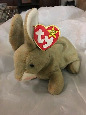 The Beanie Baby Collection TY Nibbly Rare 1998 Errors Tags