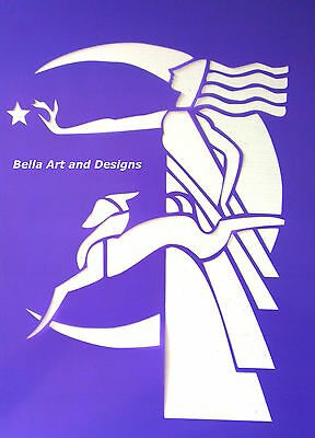 Assorted Art Deco Stencils - **Free gift with every order**