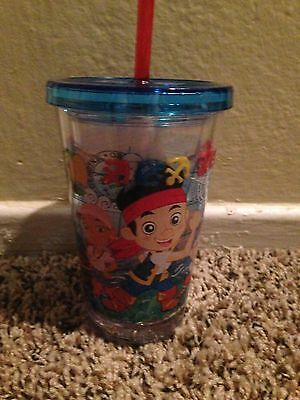 NEW DISNEY STORE Jake And The Neverland Pirates  CUP TUMBLER