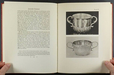 Antique American Massachusetts Colonial Silver of Jeremiah Dummer -1935 Edition